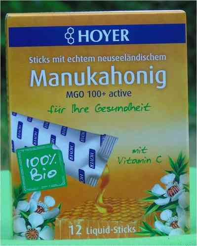 Manukahonig Liquid-Sticks MGO 100+ BIO